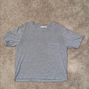 Aritzia Wilfred Free Grey Tshirt